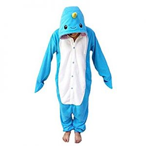 Narwhal Adult Pajamas: gifts for whale lovers