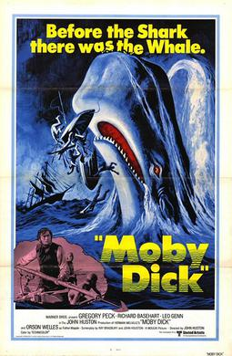 Poster For The 1976 Moby Dick Movie